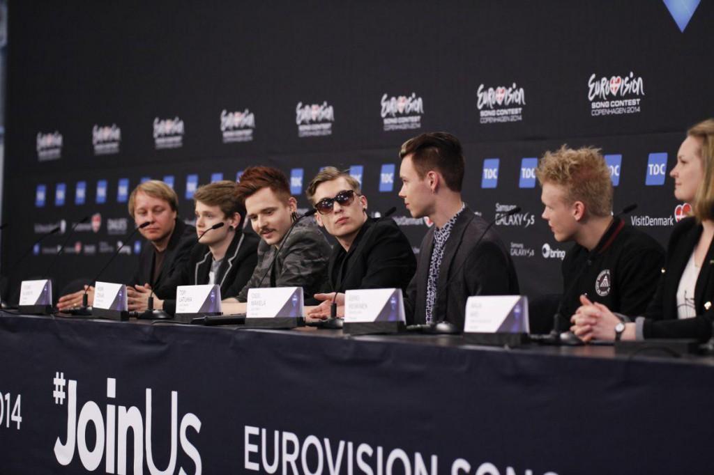 Softengine håller presskonferens. Foto: Thomas Hanses (EBU)